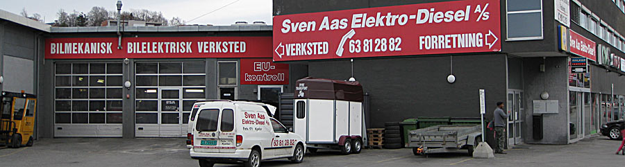 Sven Aas Elektro-Diesel as Bilverksted