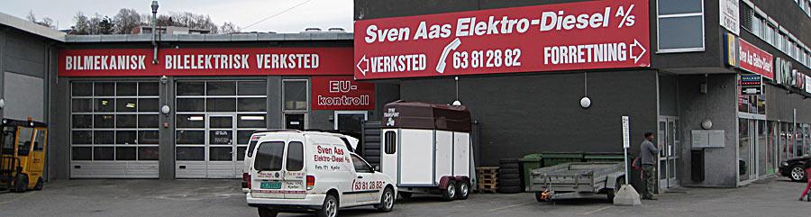 Sven Aas Elektro-Diesel as Bilverksted