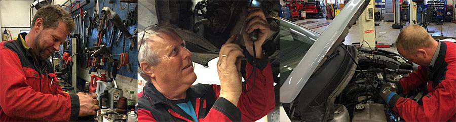 Bilen din, bilverksted, søgne, reparasjon, service, eu-kontroll