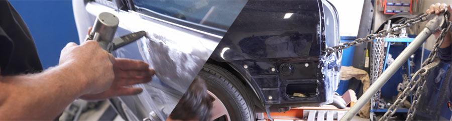 normann, bilverksted, skade, reparasjon, oppretting, lakk